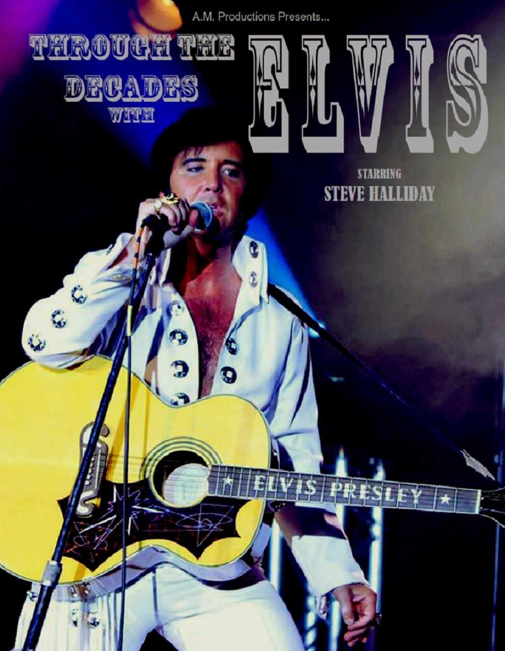 Poster for 'Through The Decades With Elvis'