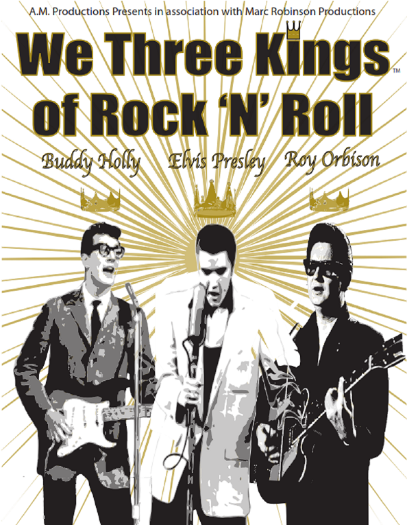 Poster for 'We Three Kings of Rock n Roll'